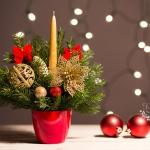 Návod na voňavý vánoční svícen