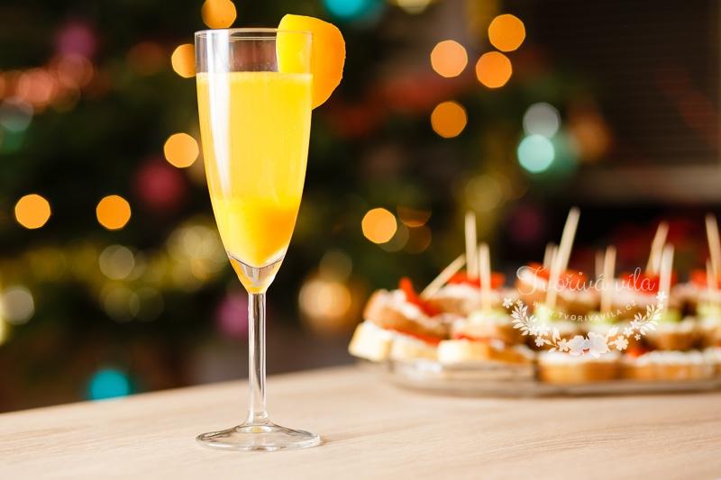 Šampaňské s broskví