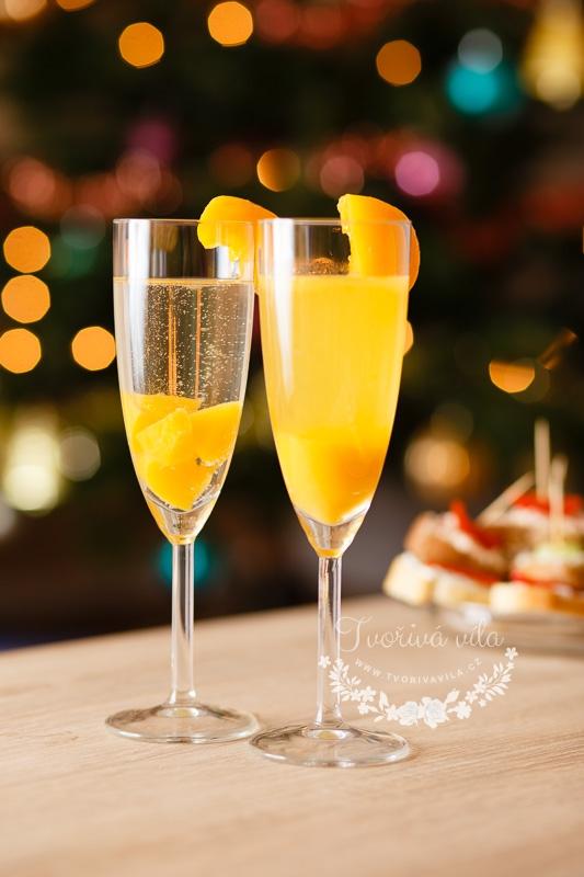 Varianty podávání šampaňského