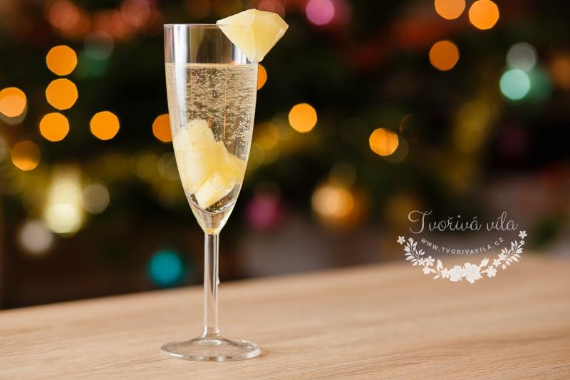 Šampaňské s ananasem