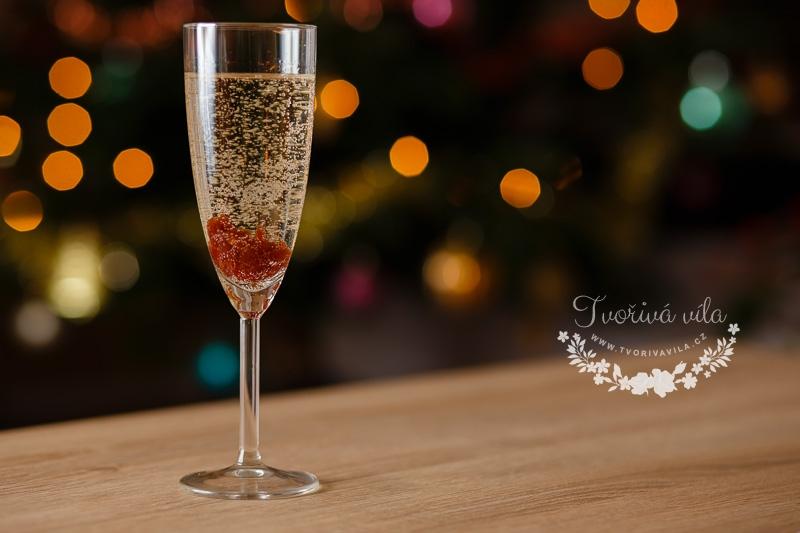Šampaňské s marmeládou