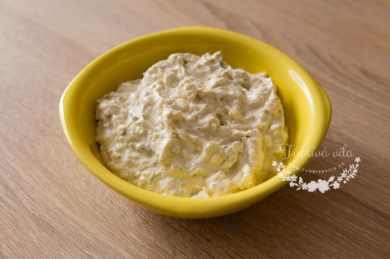 Česneková pomazánka z taveného sýra