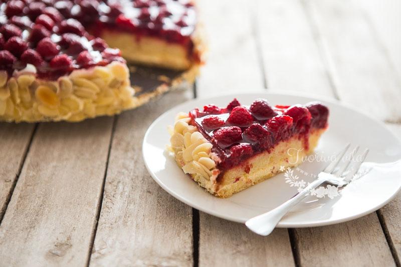Malinový dort