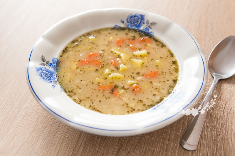 Fazolová polévka jako od babičky