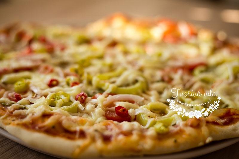 Domácí pizza těsto