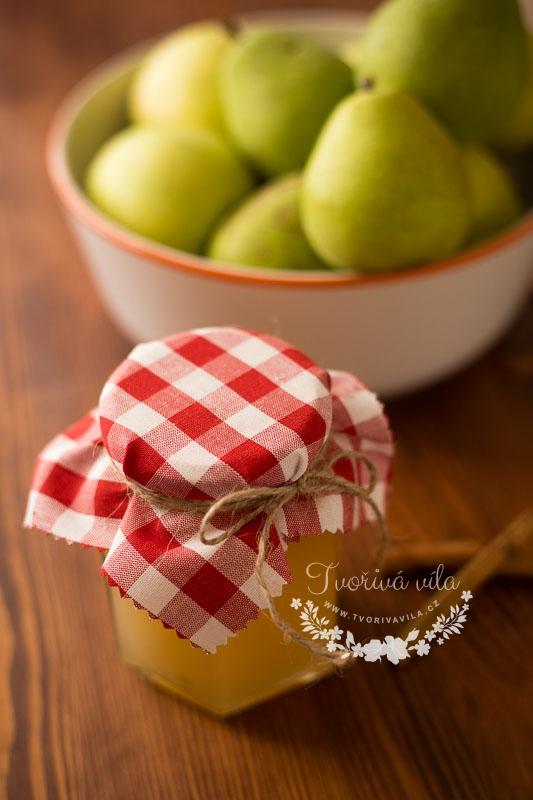 Domácí hrušková marmeláda