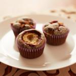 Recept na makové muffiny se švestkami